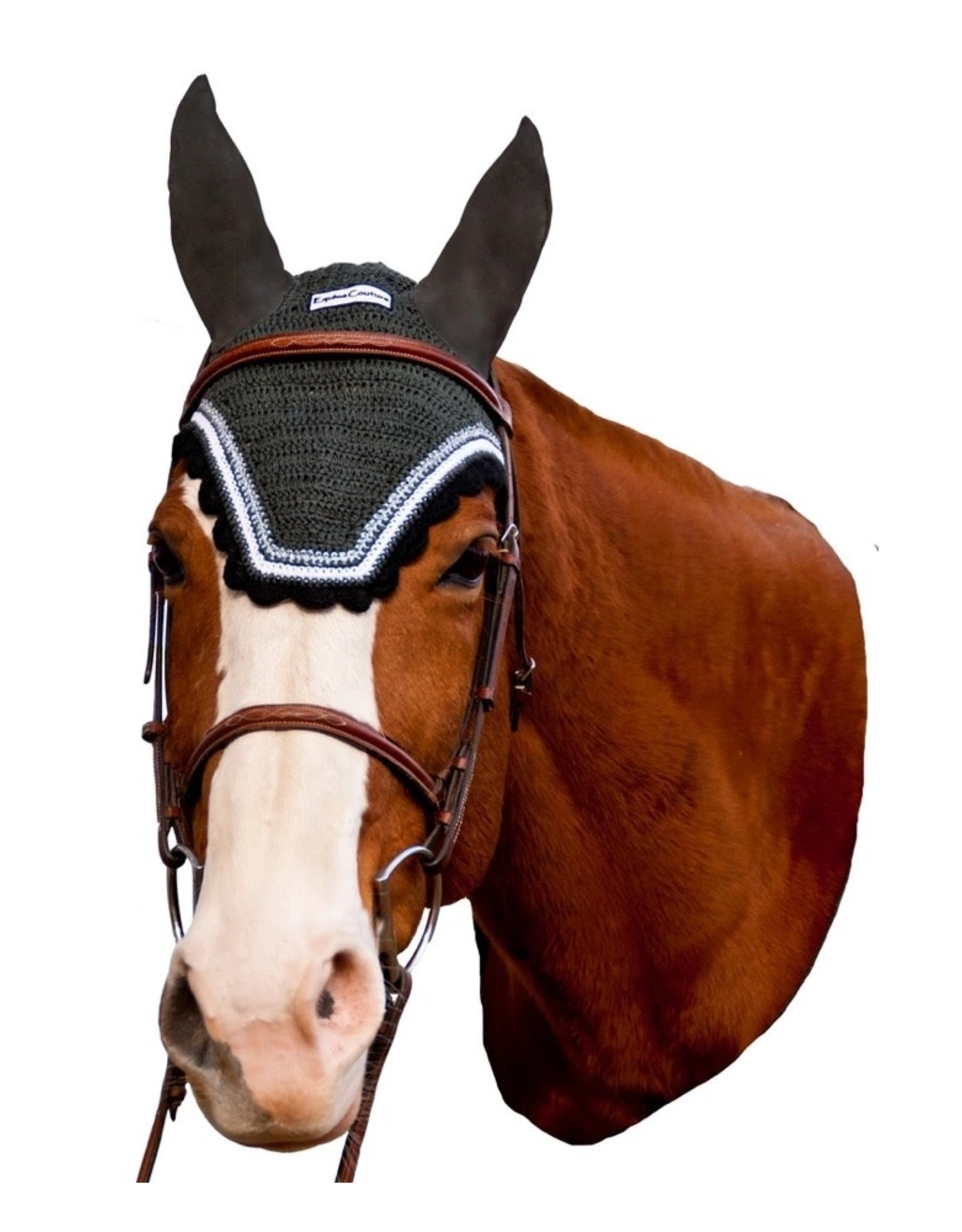 Equine Couture Contrast Fly Bonnet