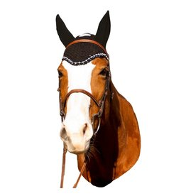 Equine Couture Crystal Fly Bonnet
