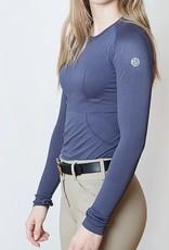 TKEQ Ladies' Kennedy Seamless Long Sleeve Shirt