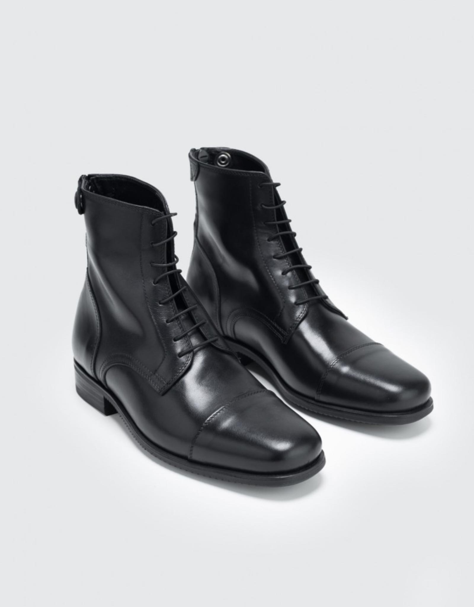 Secchiari Secchiari Unisex Back Zip Front Lace Paddock Boot