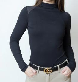 TKEQ Ladies' Chloe Mockneck Tech Top