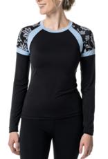 Kastel Ladies' Long Sleeve Crew Shirt