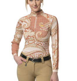 Kastel Paisley 1/4 Zip Sun Shirt