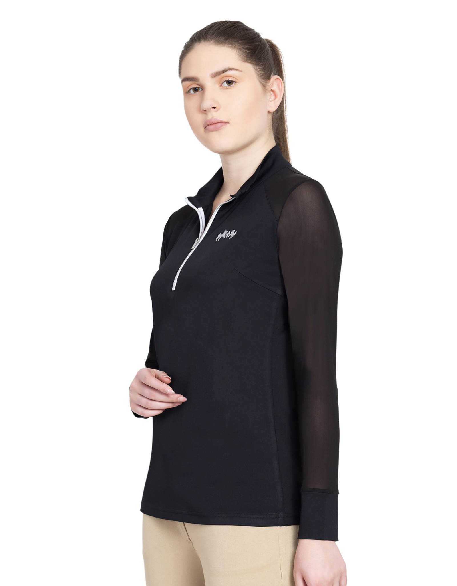Equine Couture Ladies' Erna Equicool Long Sleeve Sun Shirt