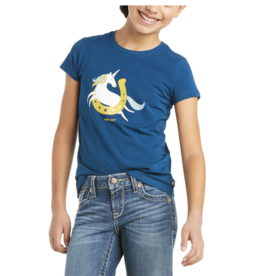 Ariat Kids' Unicorn Moon Shirt