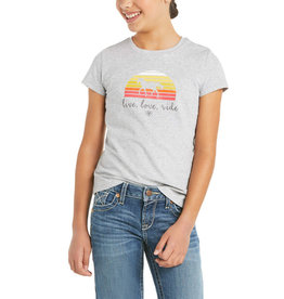 Ariat Kids' Live Love Ride Shirt