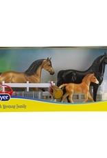 Breyer Spanish Mustang Family