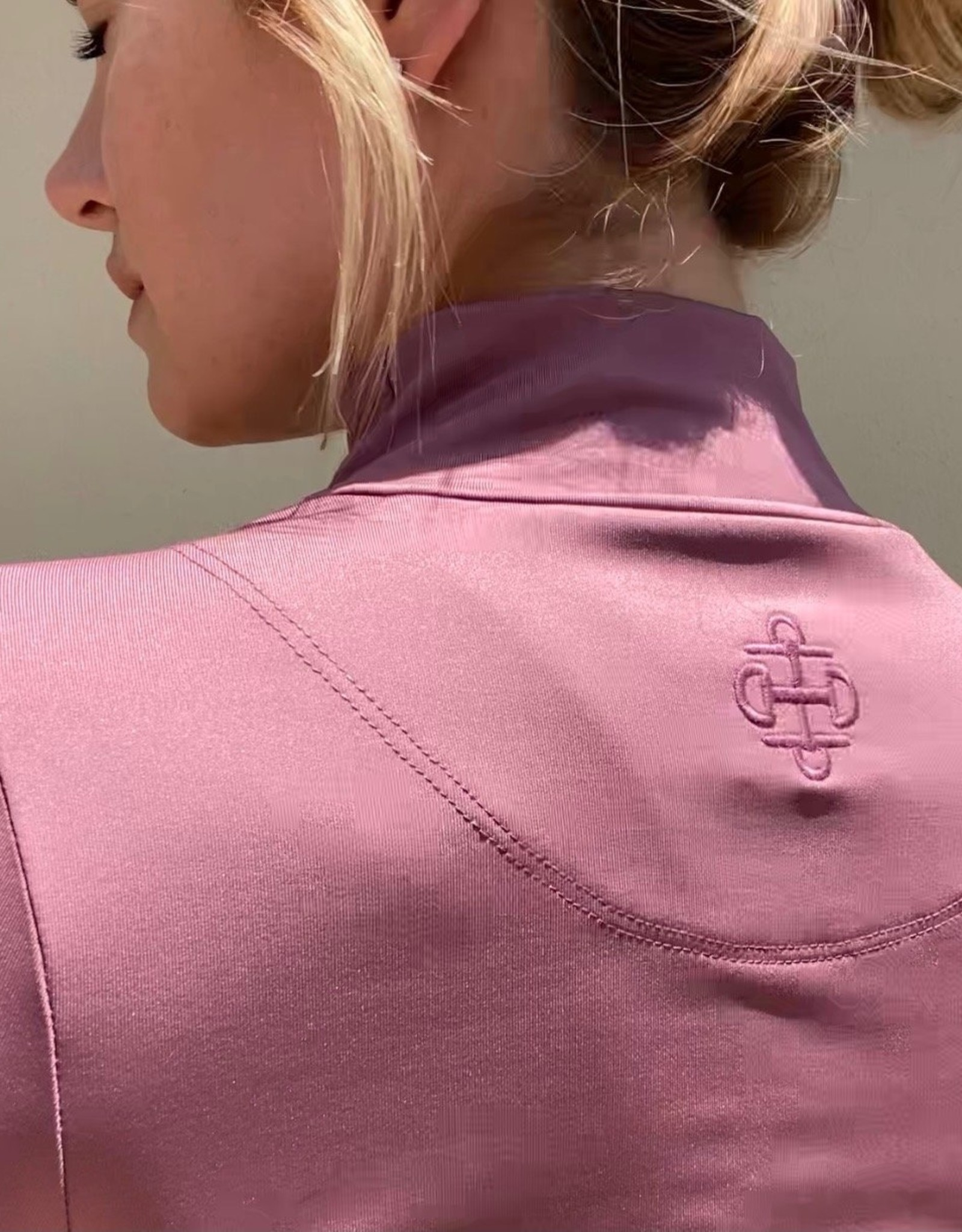 Two Bits Equestrian The Mockneck Sun Shirt by Two Bits Equestrian