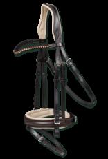 Waldhausen X-Line Brownie Dressage Bridle