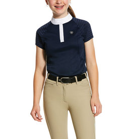 Ariat Girls' Aptos Vent Short Sleeve Shirt