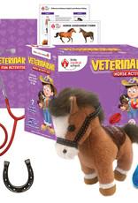 Little Medical School Veterinarian Horse Activity Set