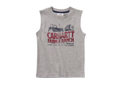 Carhartt Boys Sleeveless Tee T-Shirt