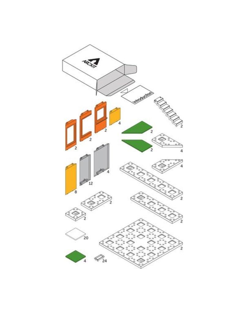 Arckit Arckit Mini 2.0 Modern Color Kids Scale Model Building Kit