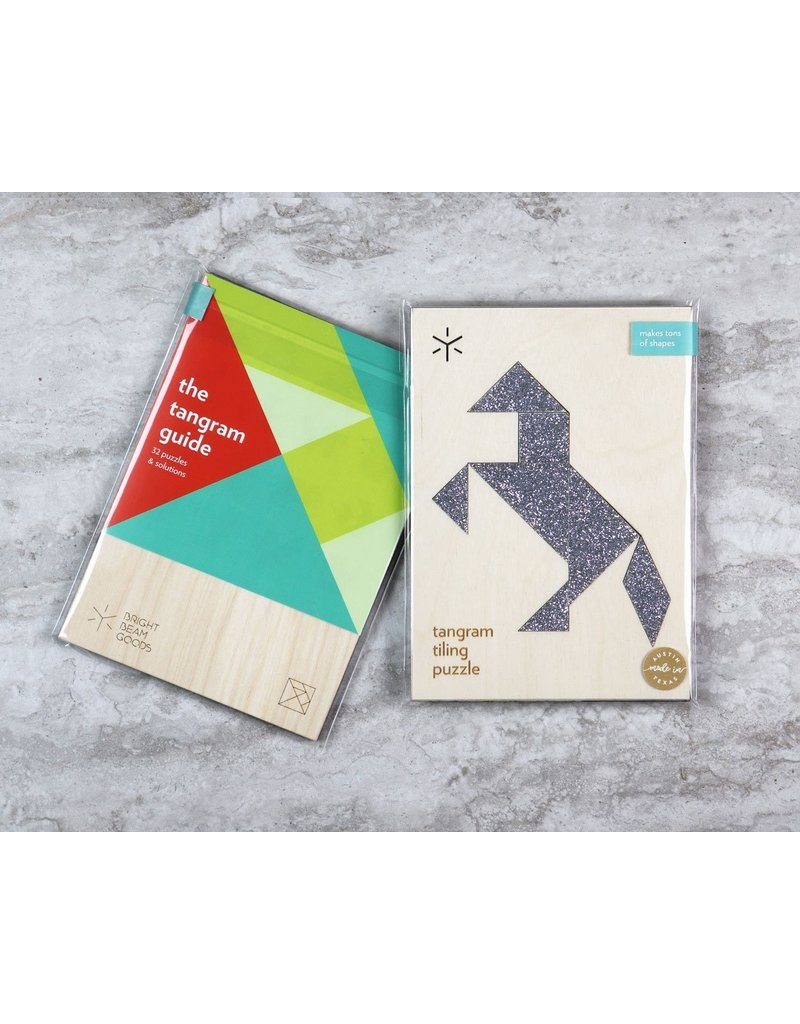 Bright Beem Goods Stallion Tangram Puzzle
