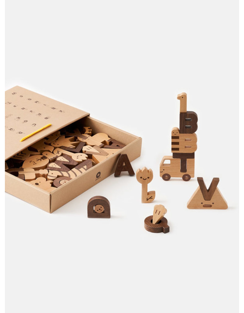 MP Alphabet Play Block Set