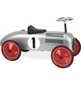 Ride-On grey vintage Car