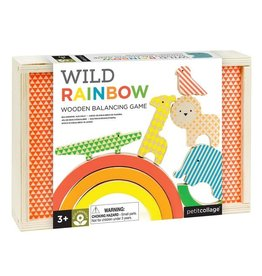 Petit Collage Wild Rainbow Balancing Game