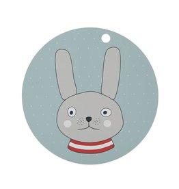 oyoy Kids Rabbit Placemat