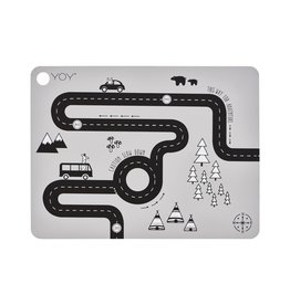 oyoy Adventure Placemat in Grey