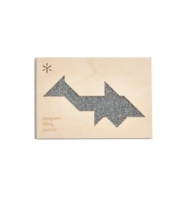 Bright Beem Goods Tangram Shark