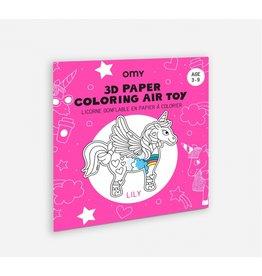OMY Unicorn Air Toy