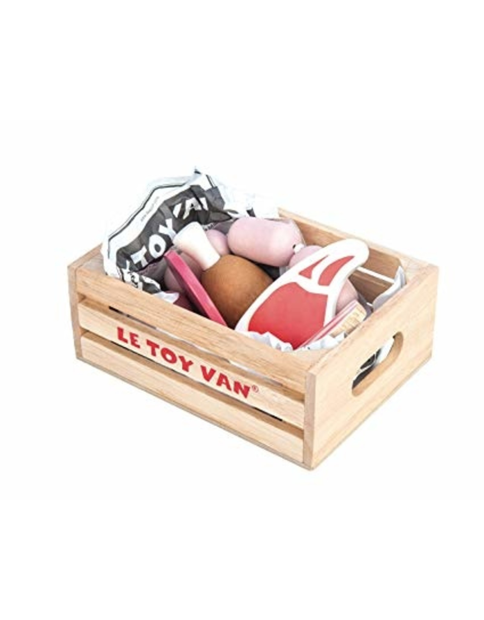 Le Toy Brand Market Crate Meat