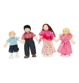 Le Toy Brand My Family Of 4