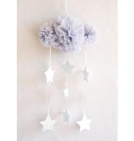Alimrose Tull Cloud Mobile - Mist & Silver