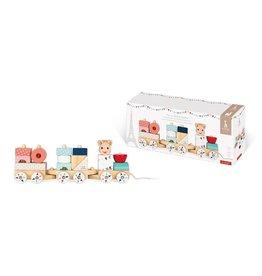 Jura Toys Sophia La Giraffe Train