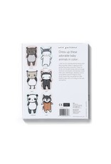 Wee Gallary Lacing Cards - Baby Animals