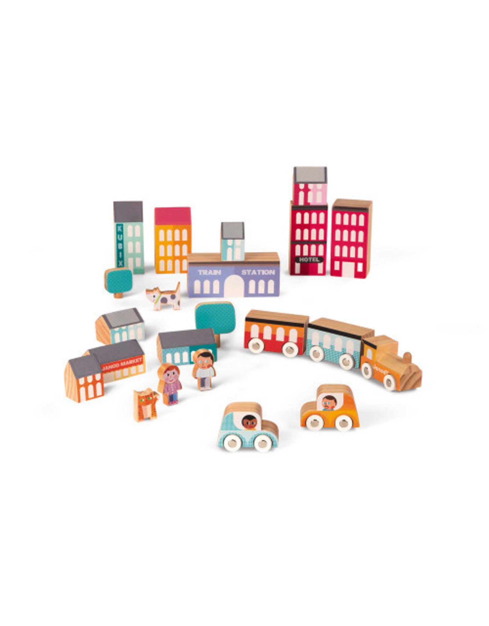 Jura Toys Kubix 22 City Pieces