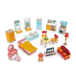 Tender Leaf Toys Foxtail Villa Furniture Set