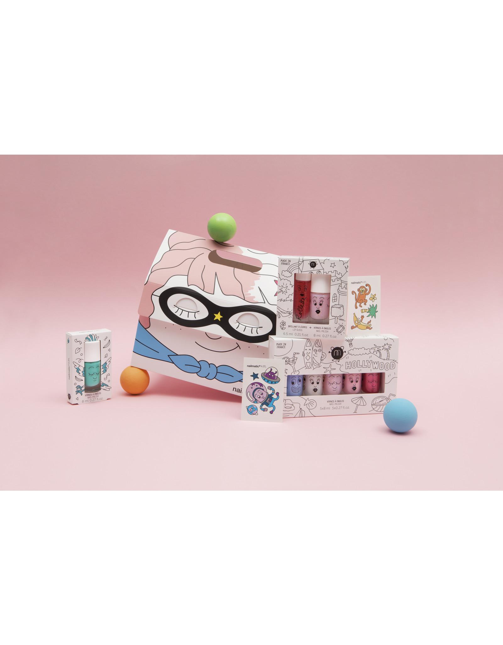 nailmatic Water-based nail polish for kids Elliot - Purple