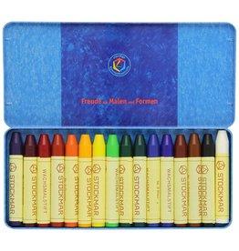 Stockmar Stockmar Beeswax  Stick Crayons 16