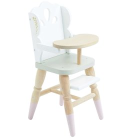 Le Toy Brand Doll High Chair