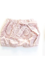 Miss Rose Sister Violet Baby Linen and Lace Bloomers
