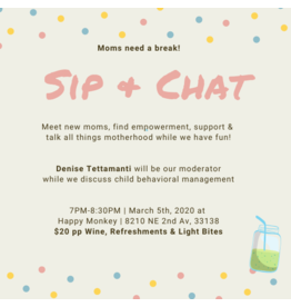Sip + Chat with Denisse
