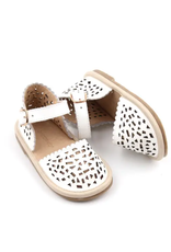 Consciously Hard Sole Toddler Leather Sandal