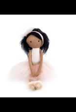 Mon Ami Pink Ballerina Dark Hair