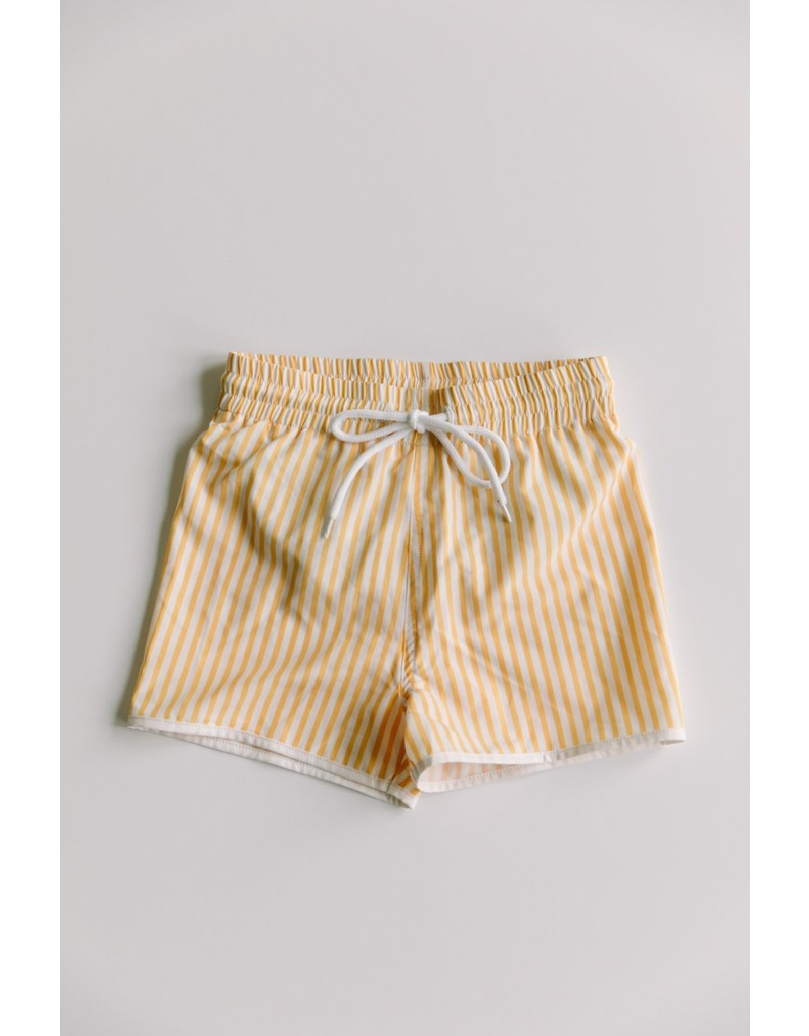 Sunberryco Boy's Yellow Striped Shorts
