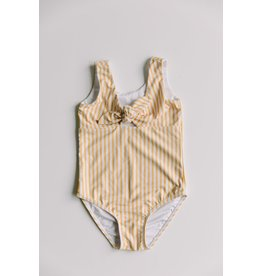 Sunberryco Girl's Striped One Piece