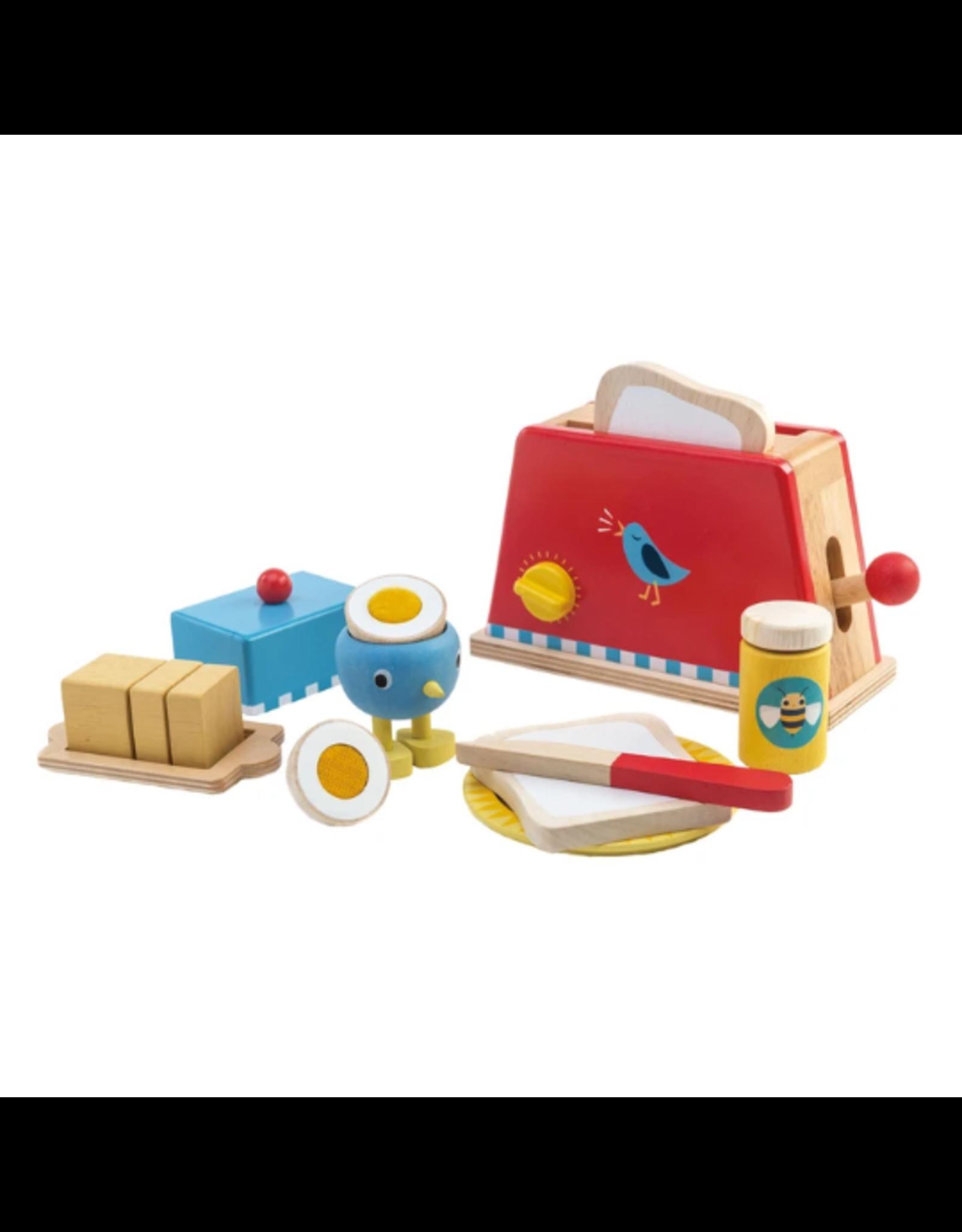 Tender Leaf Toys Toaster & Egg Set