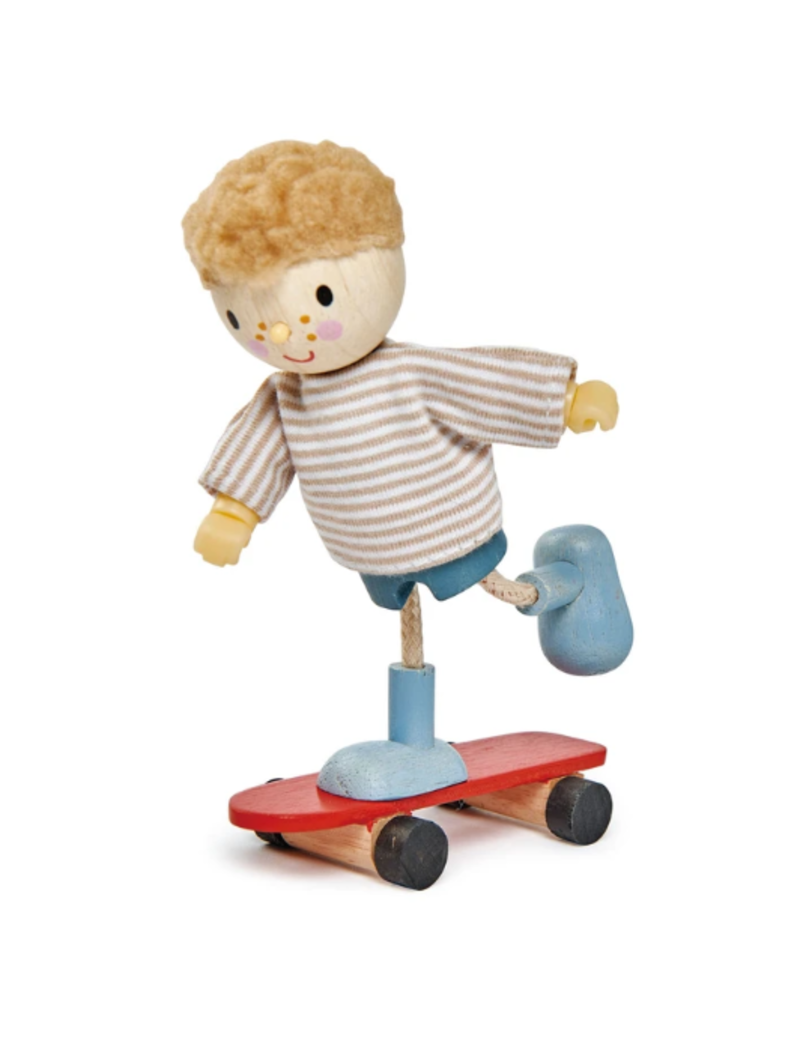 Tender Leaf Toys Edward and Skateboard