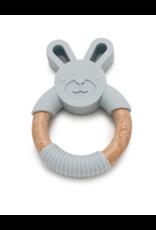 Chewable Charm Chewable Charm Bunny Silicone + Wood Teether