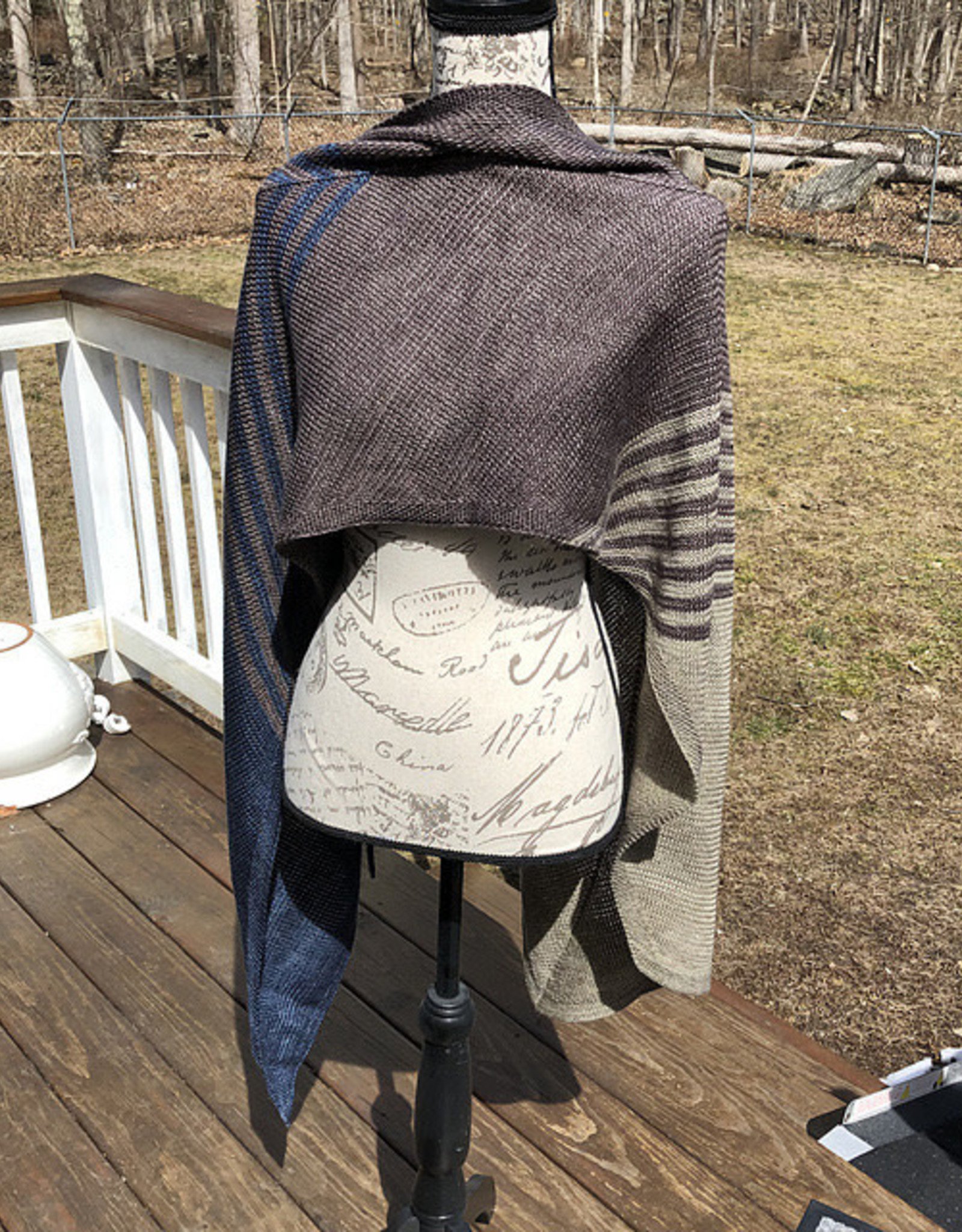 Susie Q Paint the Town Shawl
