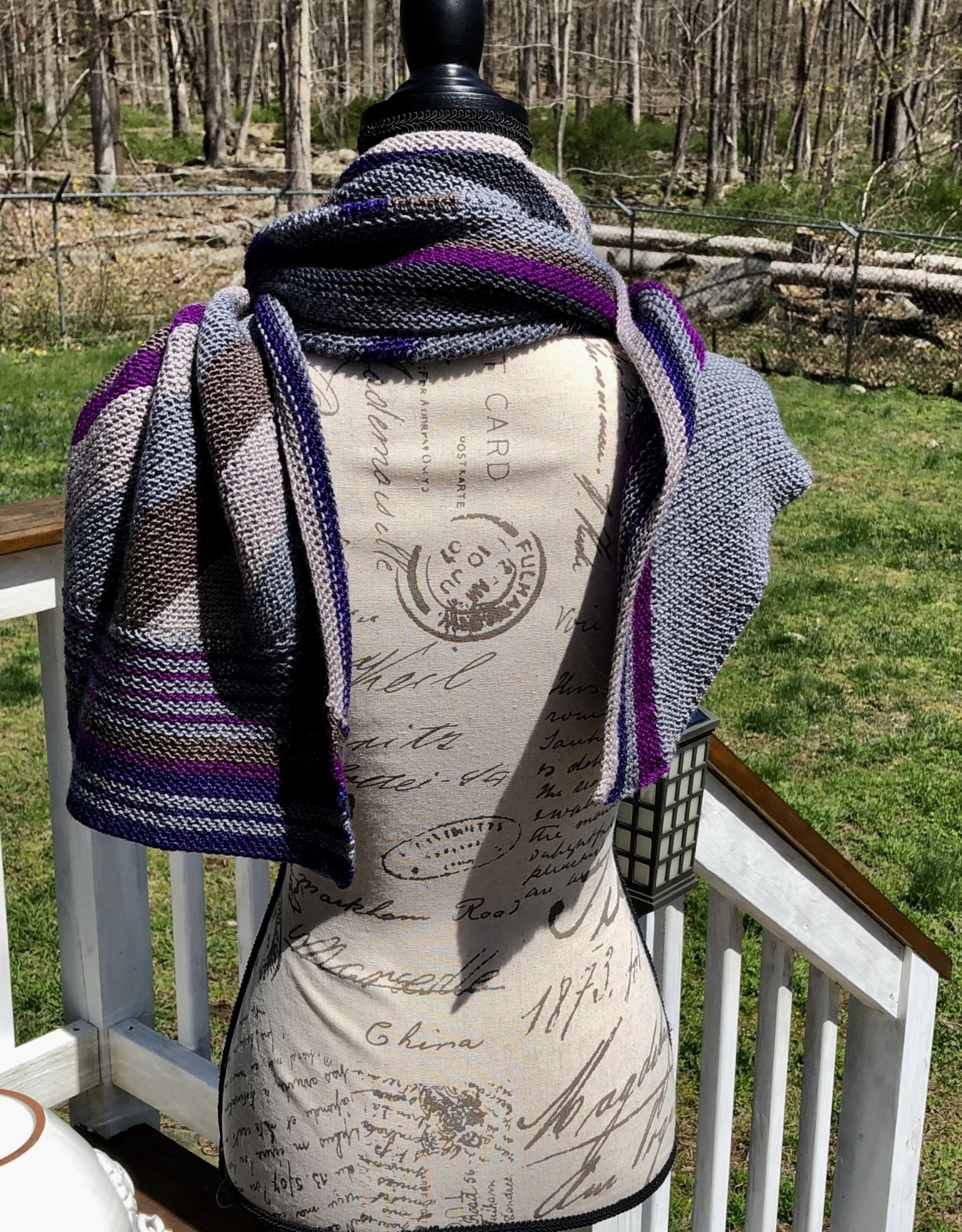 Susie Q Welcome Back Garter Scarf