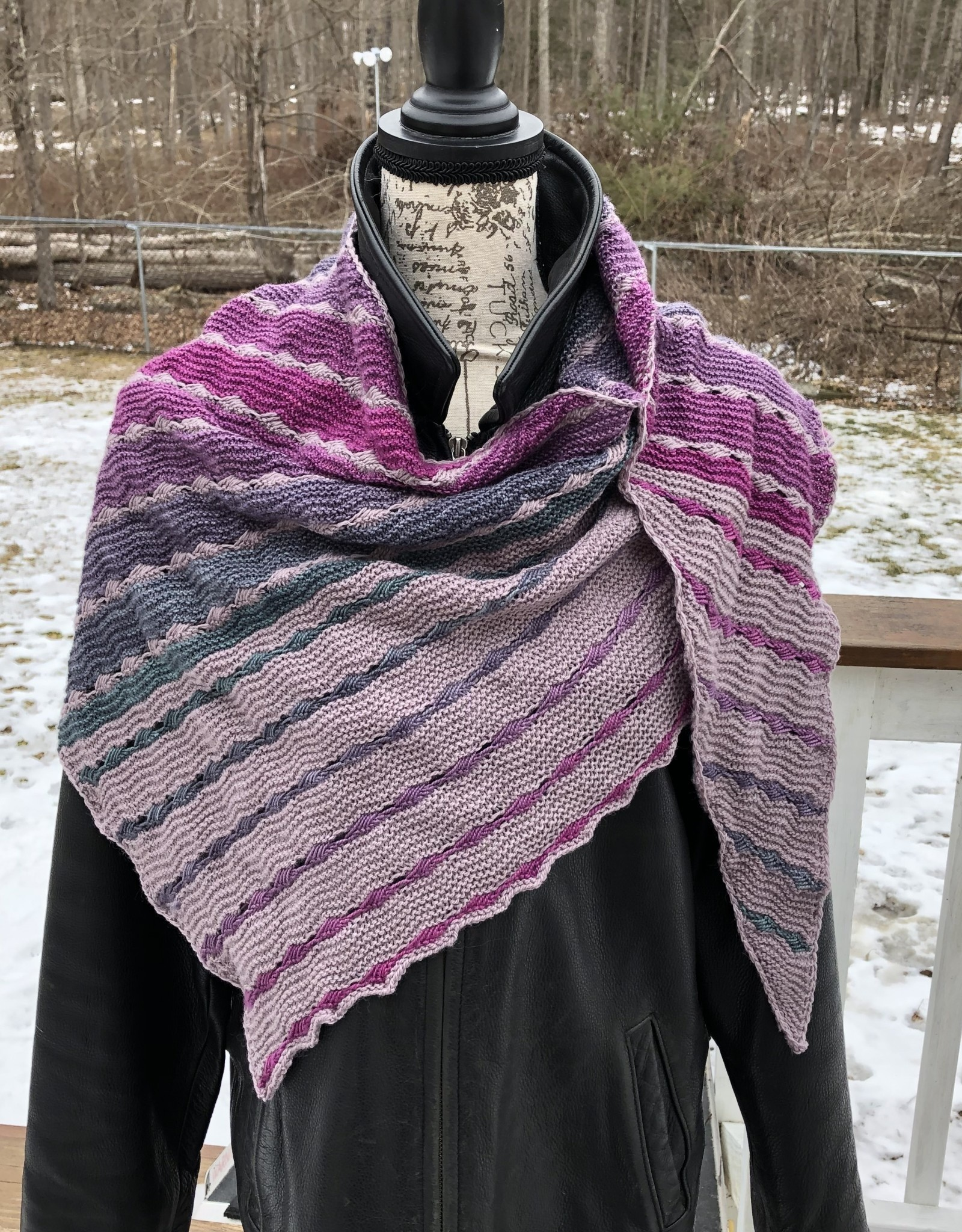 Susie Q The Joker and The Thief Shawl