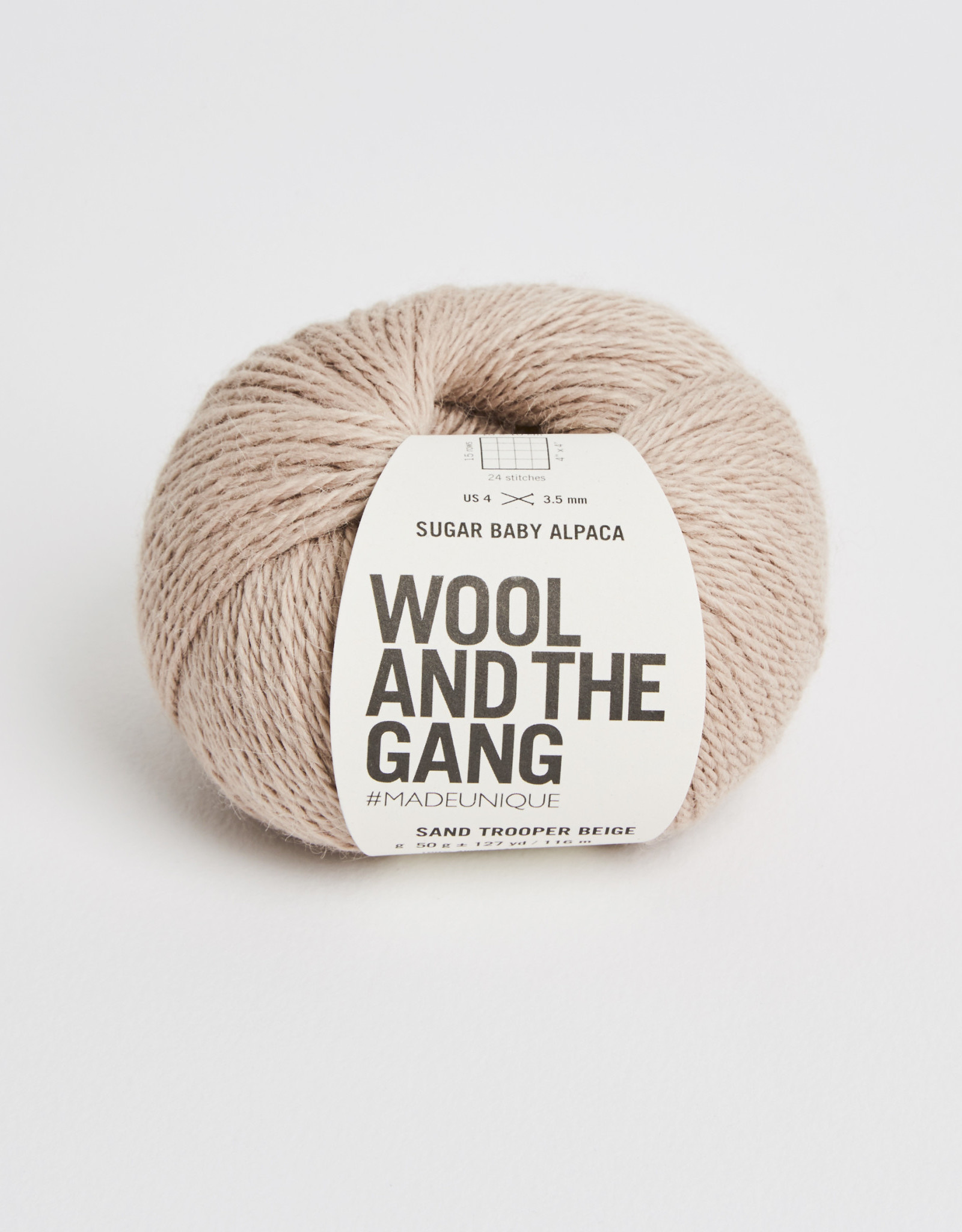 Wool and the Gang Sugar Baby Alpaca