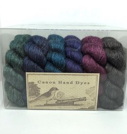 Canon Hand Dyes Canon Hand Dyes - Bruce Luxe Yak Silk Shawl Kit