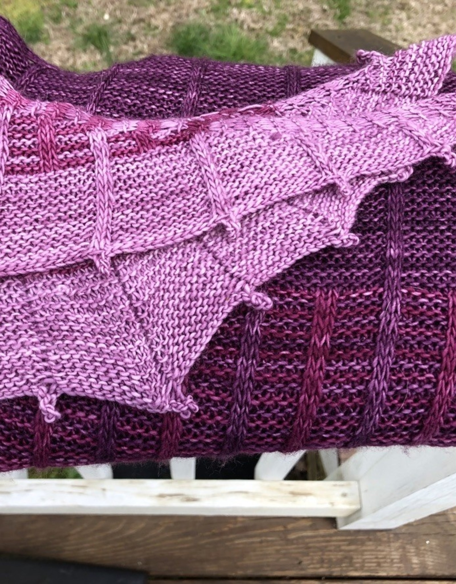 Susie Q Missed Connection Shawl